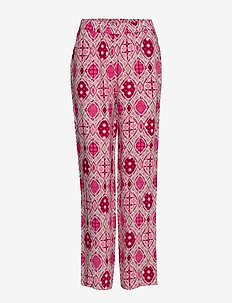 Omra Pants - vide bukser - fandango pink