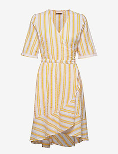Hamida dress - CORN YELLOW