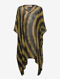 Zinba Beach Dress - BRONZE BROWN
