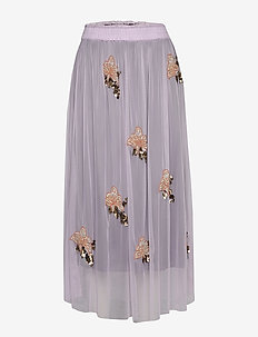 Gabbi Skirt - spódnice długie - heather