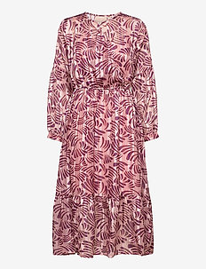 Vanja Dress - midi jurken - blush