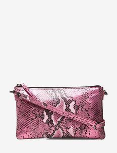 Baya Crossbody Bag - METALLIC PINK