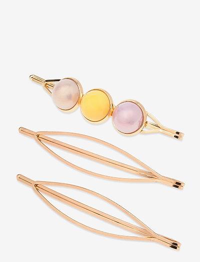 Vica Hair Pins - hår accessories - gold