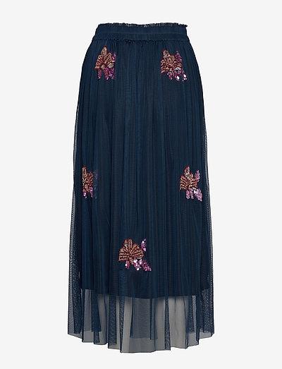 Unmade Copenhagen Gabbi Skirt- Röcke Navy Blue