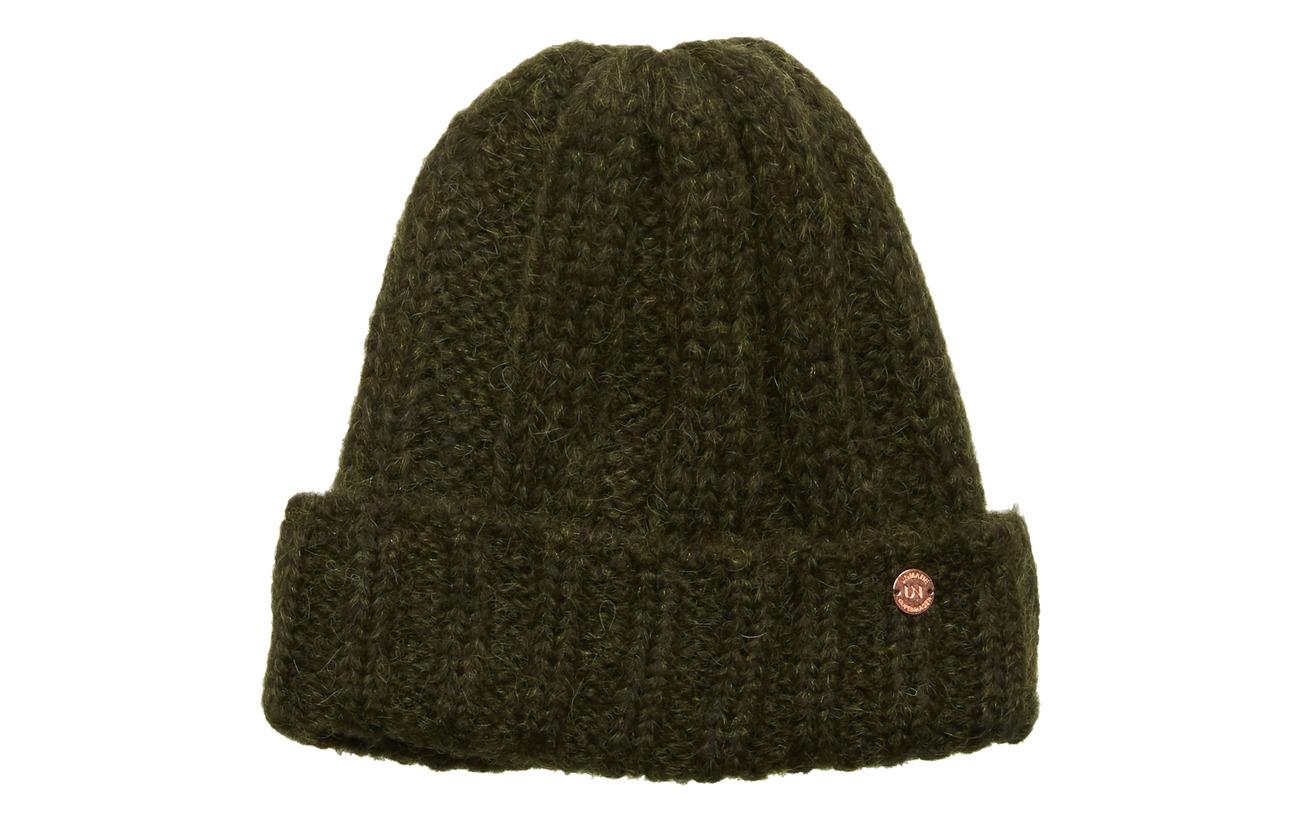 UNMADE Copenhagen Stacy Hat - BOTTLE GREEN