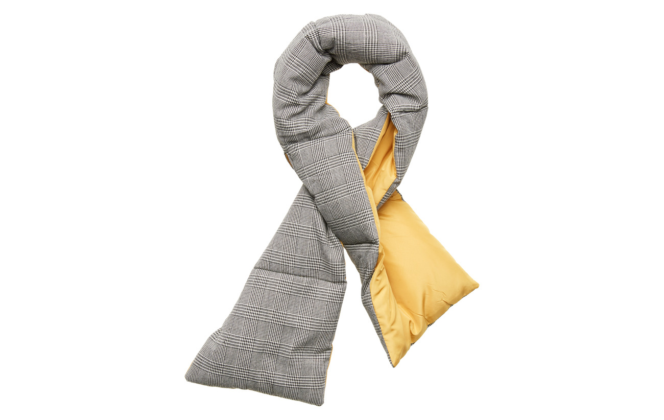 UNMADE Copenhagen Ellisha scarf - BLING/CHECK