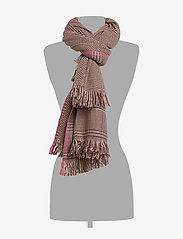 UNMADE Copenhagen - Anouk Scarf - Écharpes - grape wine - 1