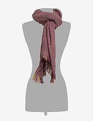 UNMADE Copenhagen - Cortney Scarf - sjaals - grape wine - 1