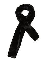 Jennabel solid scarf - BLACK