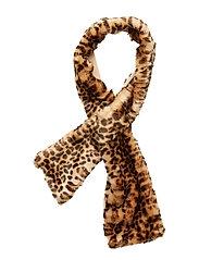 Jennabel solid scarf - CHOCOLATE