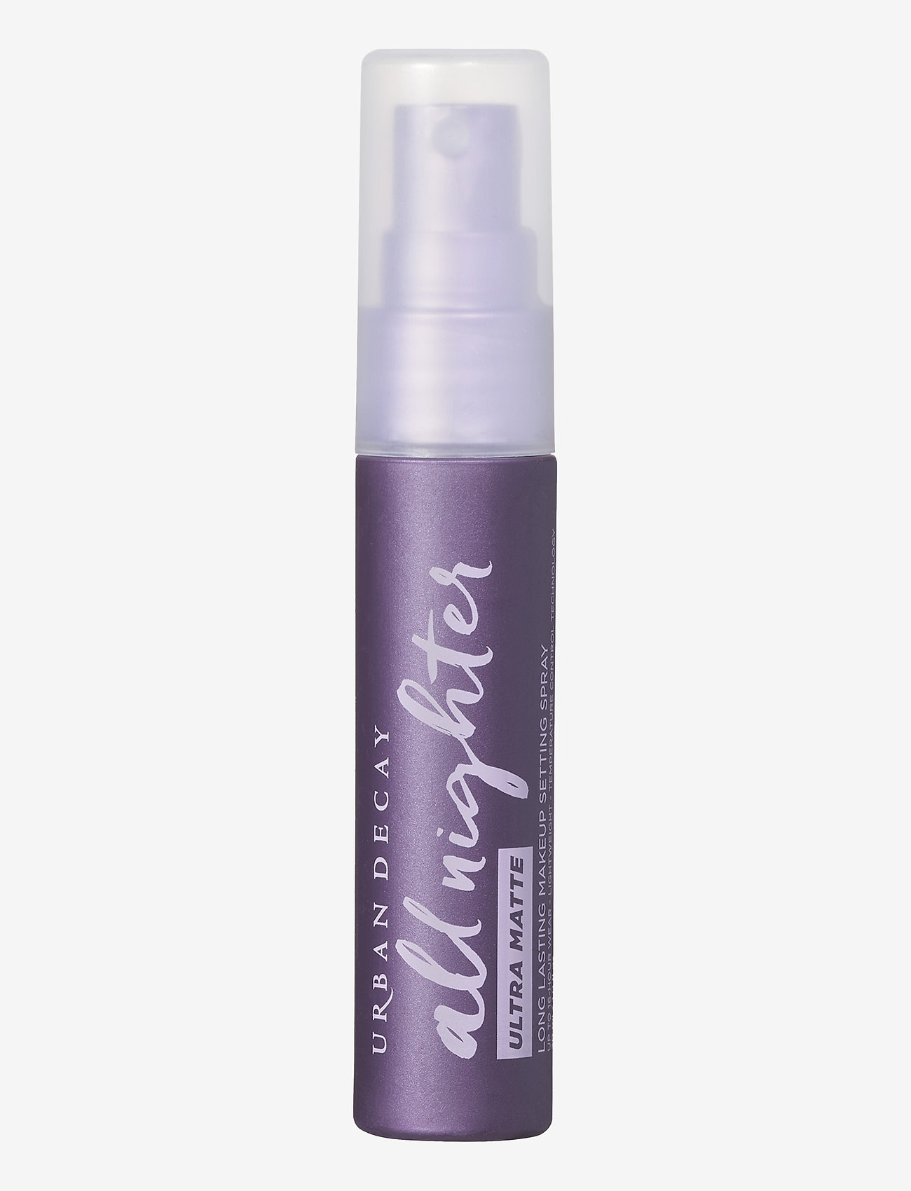 Urban Decay - All Nighter Ultra Matte Setting Spray Travel Size - setting spray - clear - 0