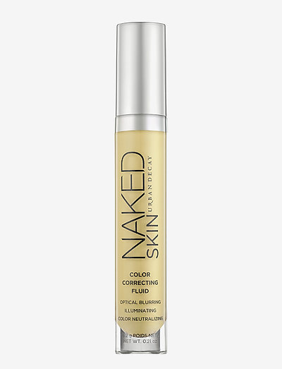 Naked Skin Color Correcting Fluid - concealer - yello
