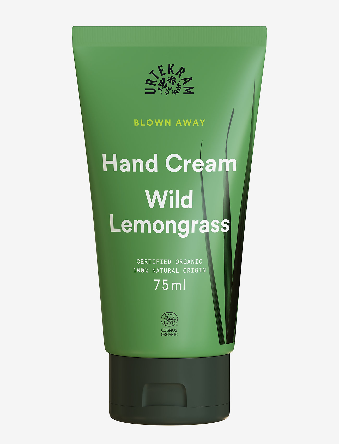 Urtekram - Wild Lemongrass Handcream 75 ml - håndcreme & fodcreme - dark graphite - 0