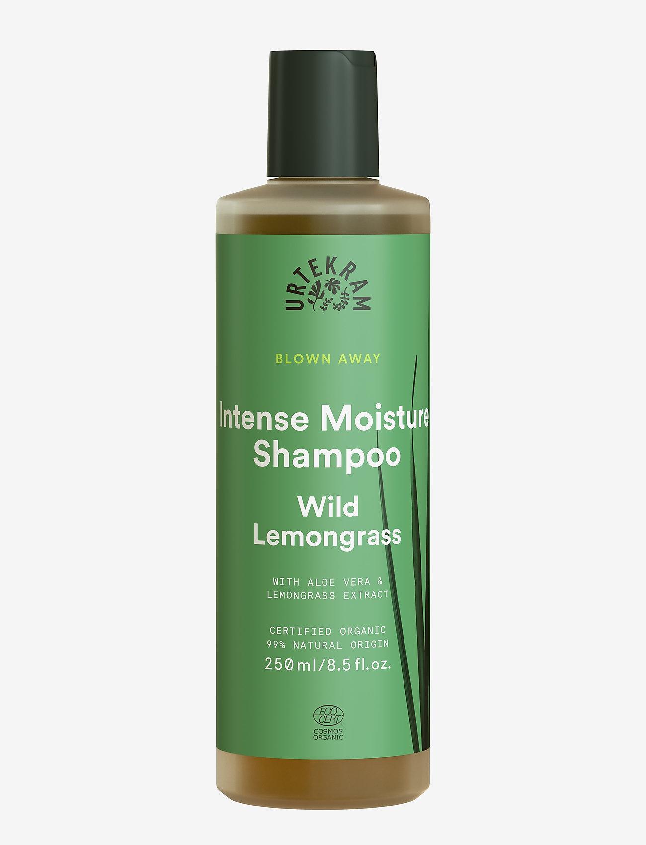 Urtekram - Intense Moisture Shampoo Wild Lemongrass Shampoo 250 ml - shampoo - dark graphite - 0