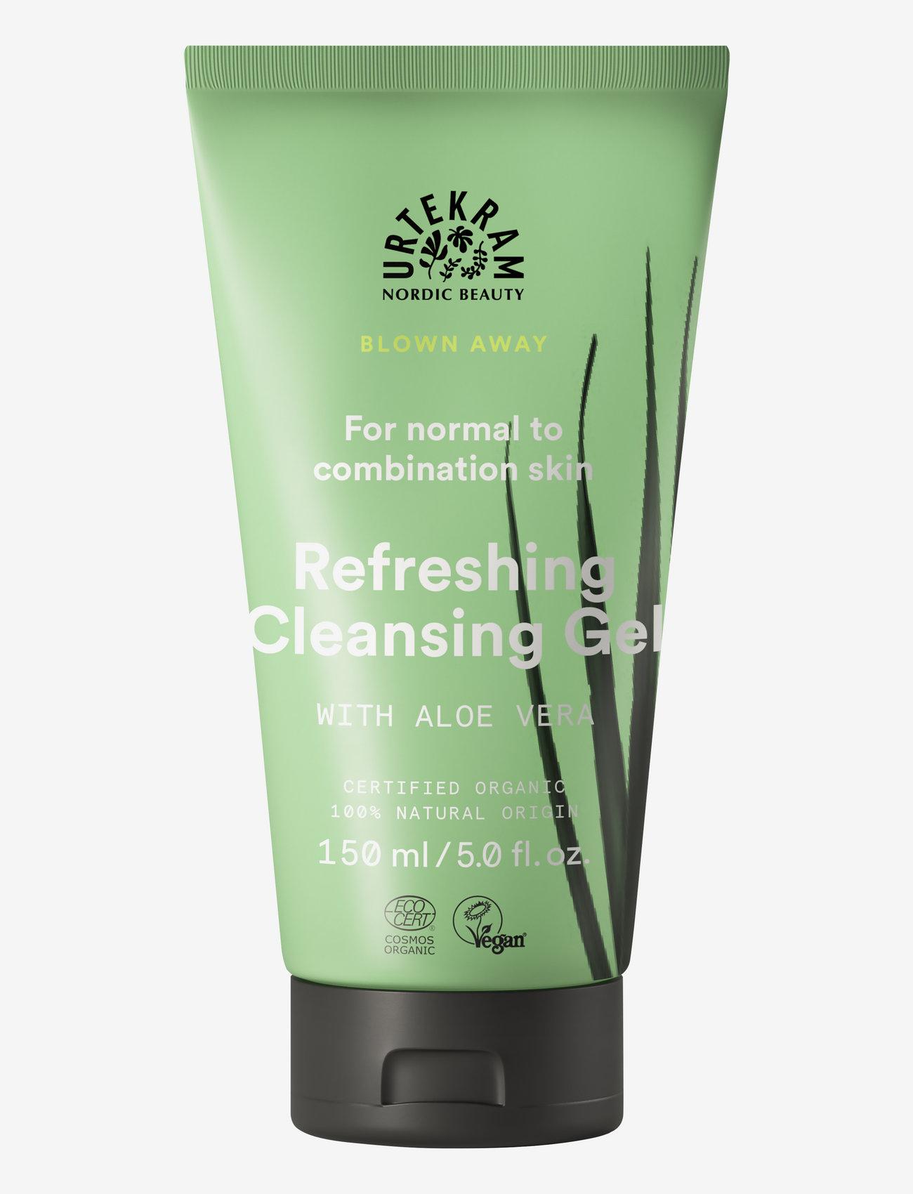 Urtekram - Wild Lemongrass Refreshing Cleansing Gel 150 ml - rengöringsgel - clear - 0