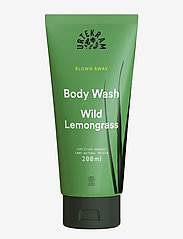 Urtekram - Wild Lemongrass Body Wash 200 ml - shower gel - dark graphite - 0