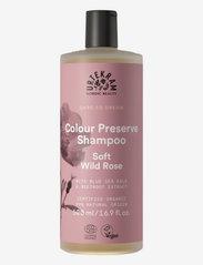 Urtekram - Color Preserve Shampoo Soft Wild Rose Shampoo 500 ml - shampoo - dark graphite - 0