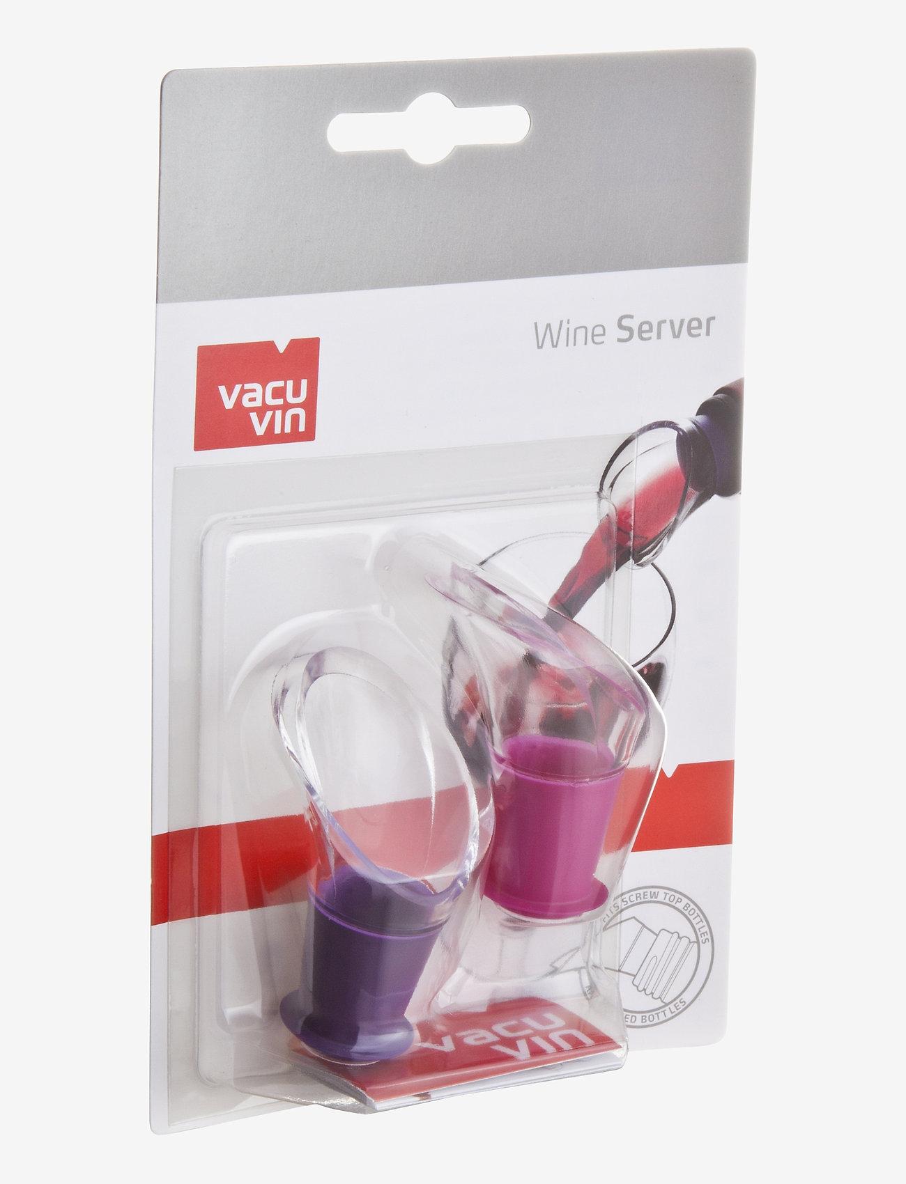 Vacuvin - Wine Server Crystal Set 2 - vinåpnere & korketrekkere - clear - 0