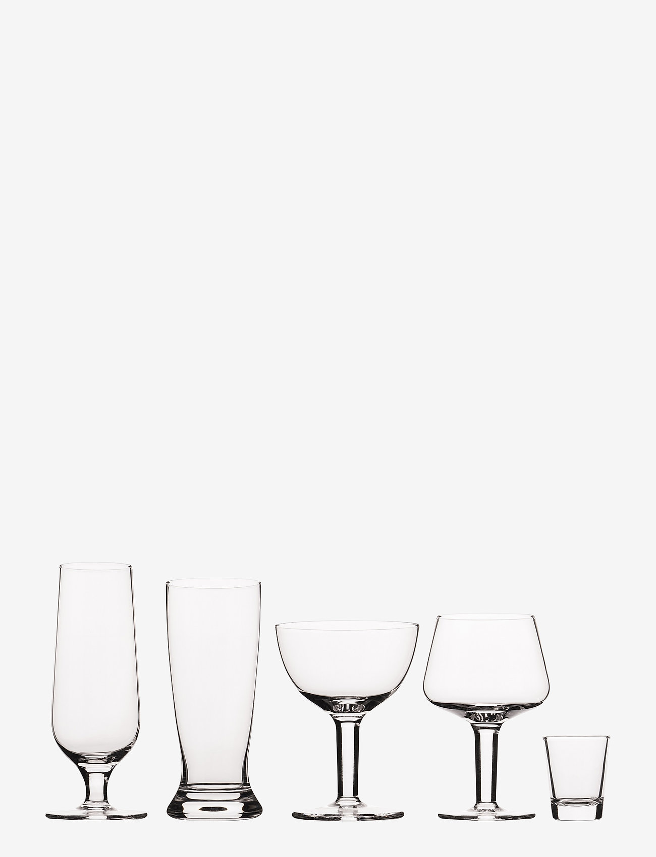 Vacuvin - Beer Tasting Glass 2 Sets of 5 - Ølglass - clear - 0