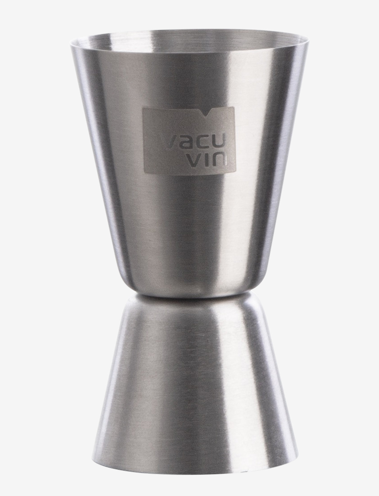 Vacuvin - Double Jigger Card - cocktail shakere - silver - 0