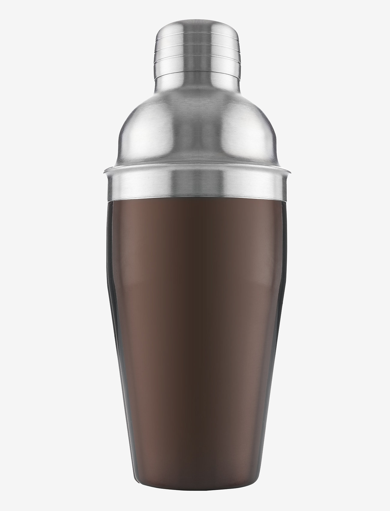 Vacuvin - Cocktail Shaker - cocktail shakere - silver, dark red - 0