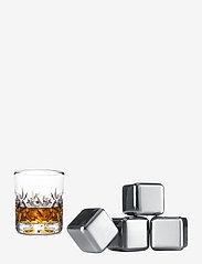Vacuvin - Whiskey Stones - 4-PACK - isbiter og isbrett - silver - 0