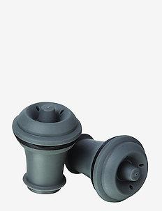 Wine Stoppers 2-PACK - korkkiruuvit & avaajat - grey