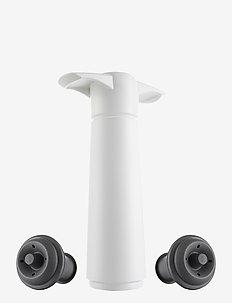 Wine Saver  Gift Pack 2-PACK - vinåpnere & korketrekkere - white