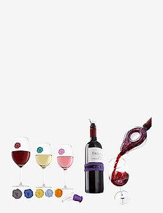 Wine tasting Gift set CEL - vinoplukkere & proptrækkere - clear