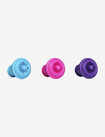 Wine Stoppers 3-PACK - vinåpnere & korketrekkere - pink,blue,purple