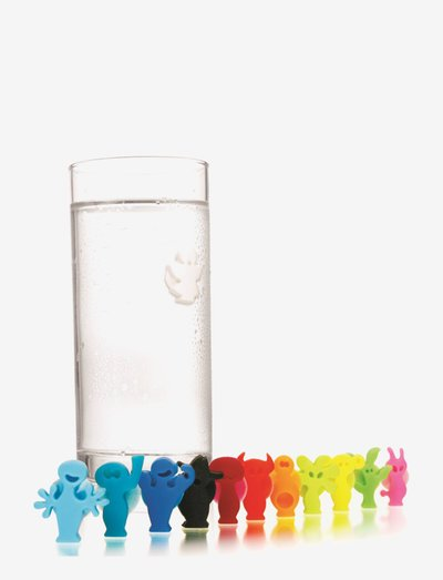 Glass Markers 12-PACK Party People - drink & barutstyr - multi