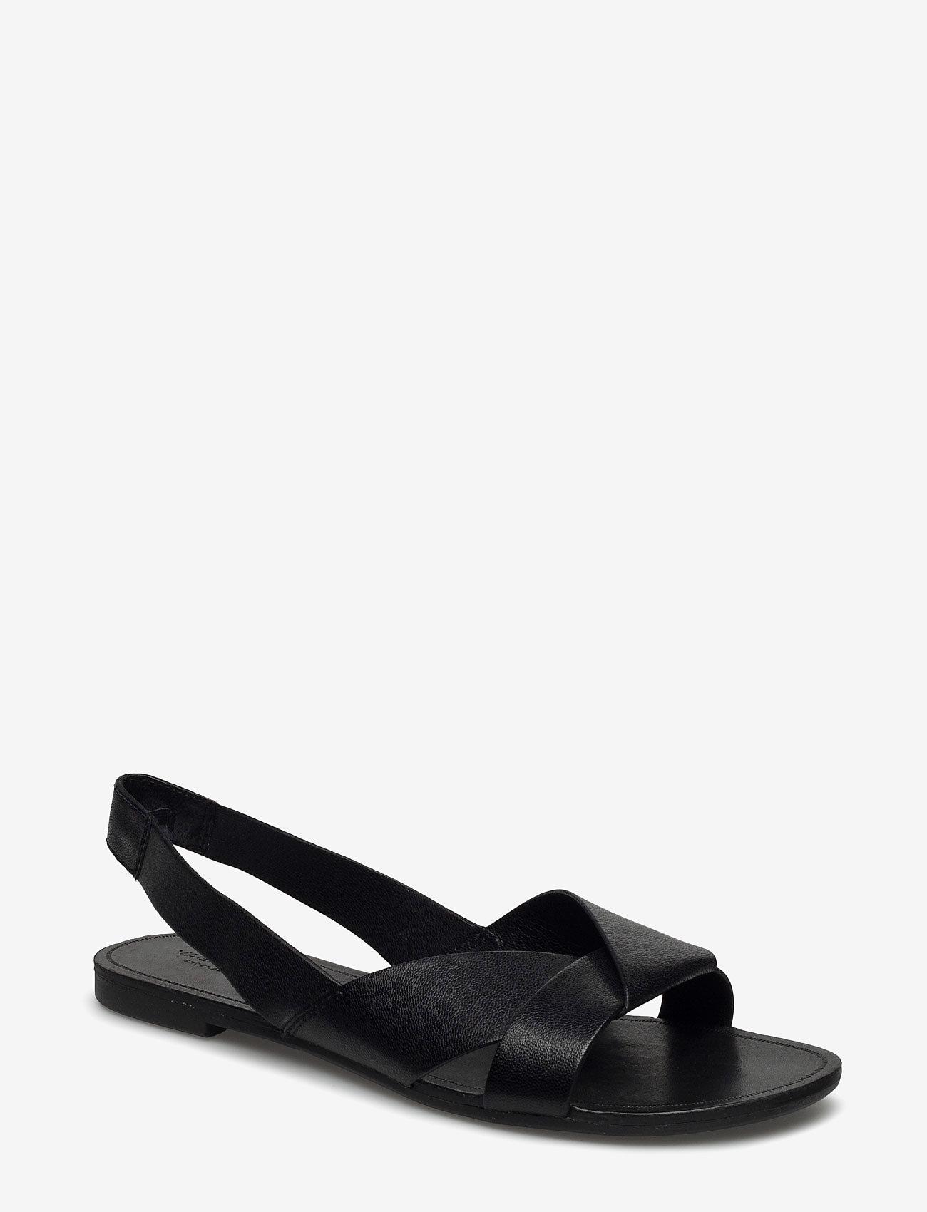 VAGABOND - TIA - płaskie sandały - black - 0