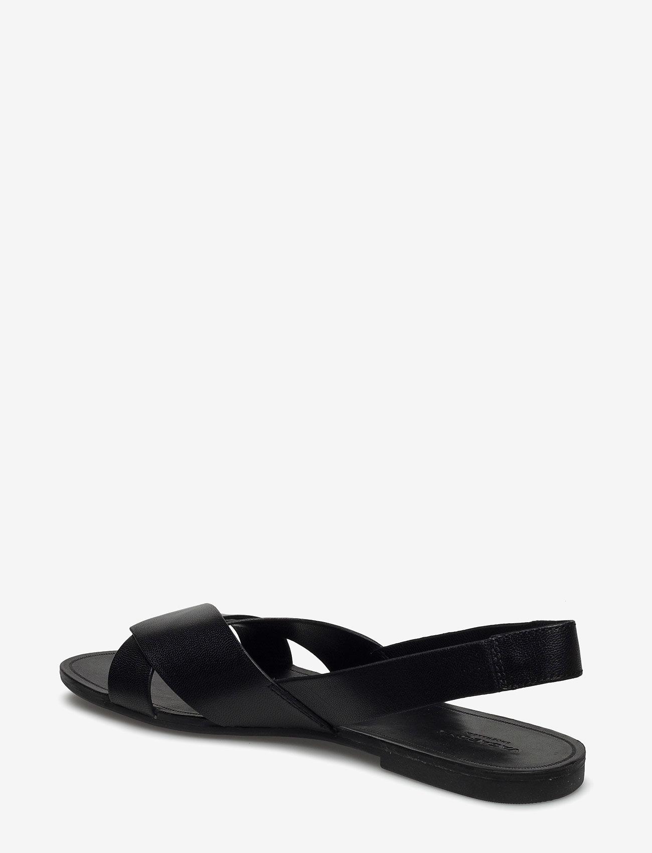 VAGABOND - TIA - płaskie sandały - black - 2
