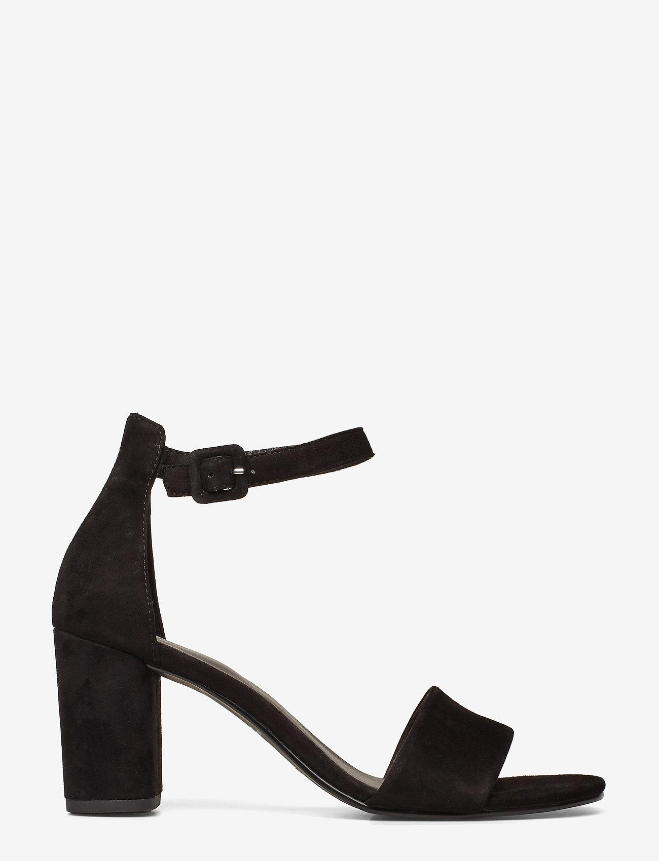 VAGABOND - PENNY - sandały na obcasie - black - 1