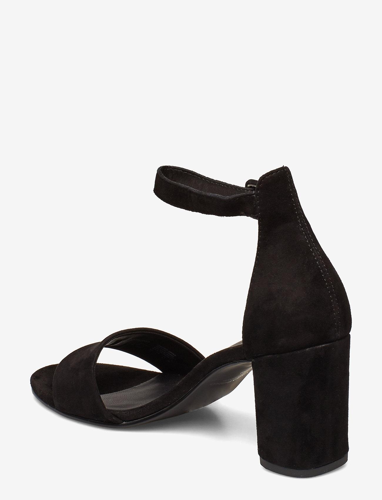 VAGABOND - PENNY - sandały na obcasie - black - 2