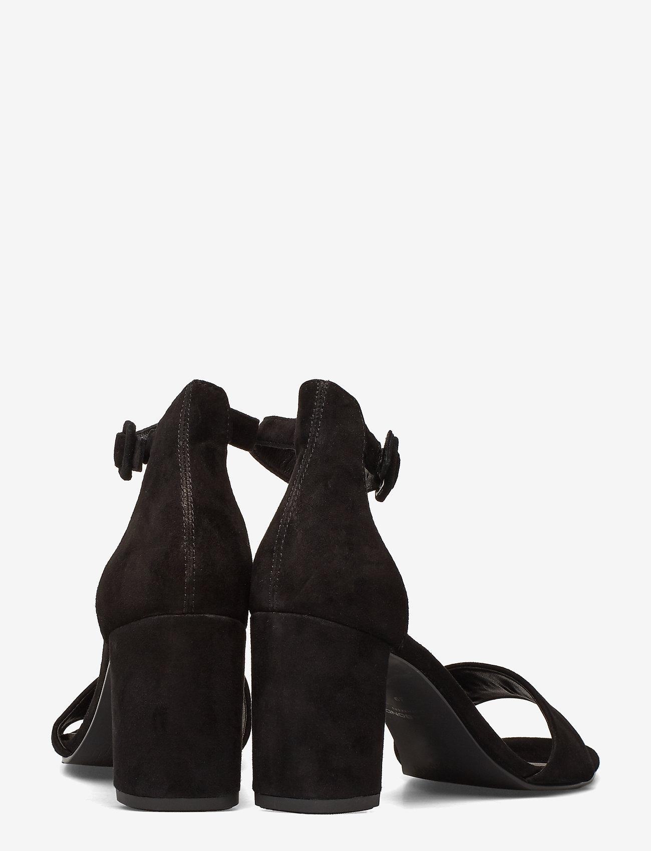 VAGABOND - PENNY - sandały na obcasie - black - 4