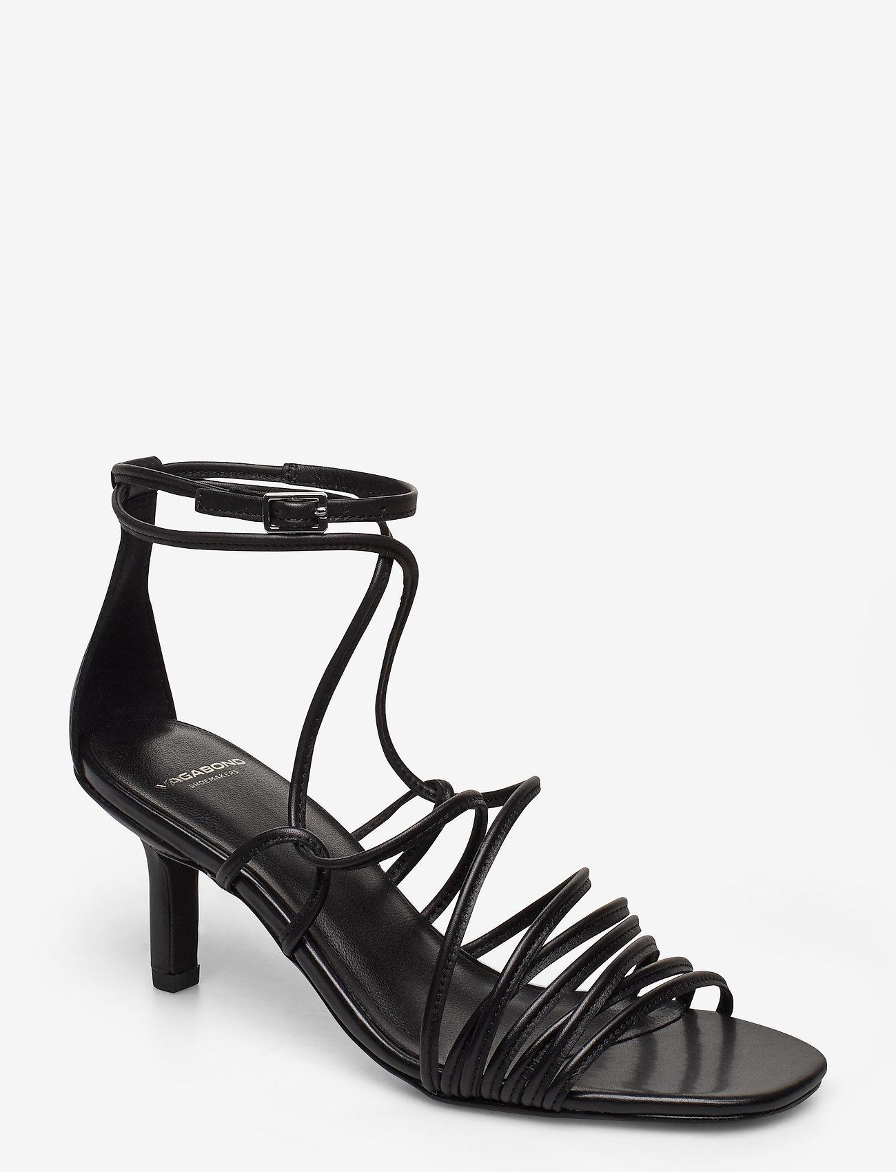 VAGABOND - AMANDA - sandały na obcasie - black - 0