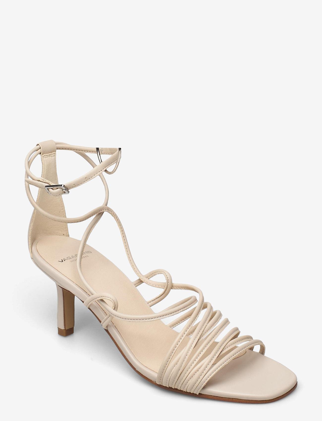 VAGABOND - AMANDA - sandały na obcasie - off white - 0