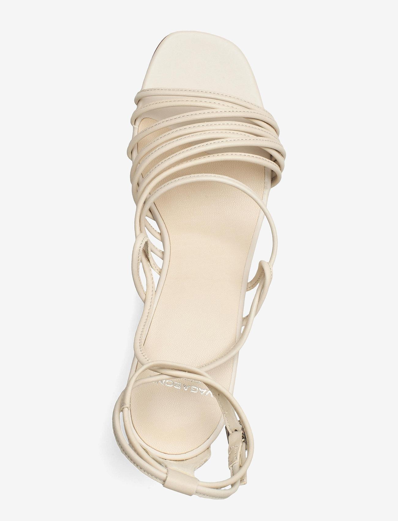 VAGABOND - AMANDA - sandały na obcasie - off white - 3
