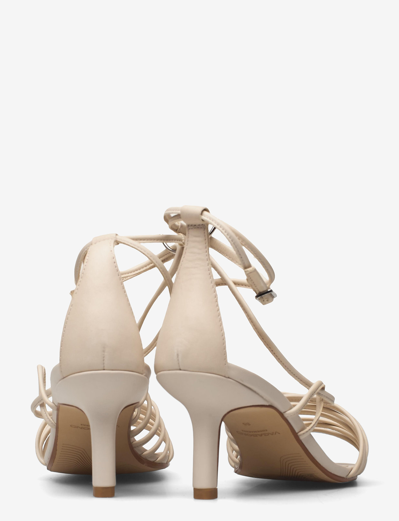 VAGABOND - AMANDA - sandały na obcasie - off white - 4