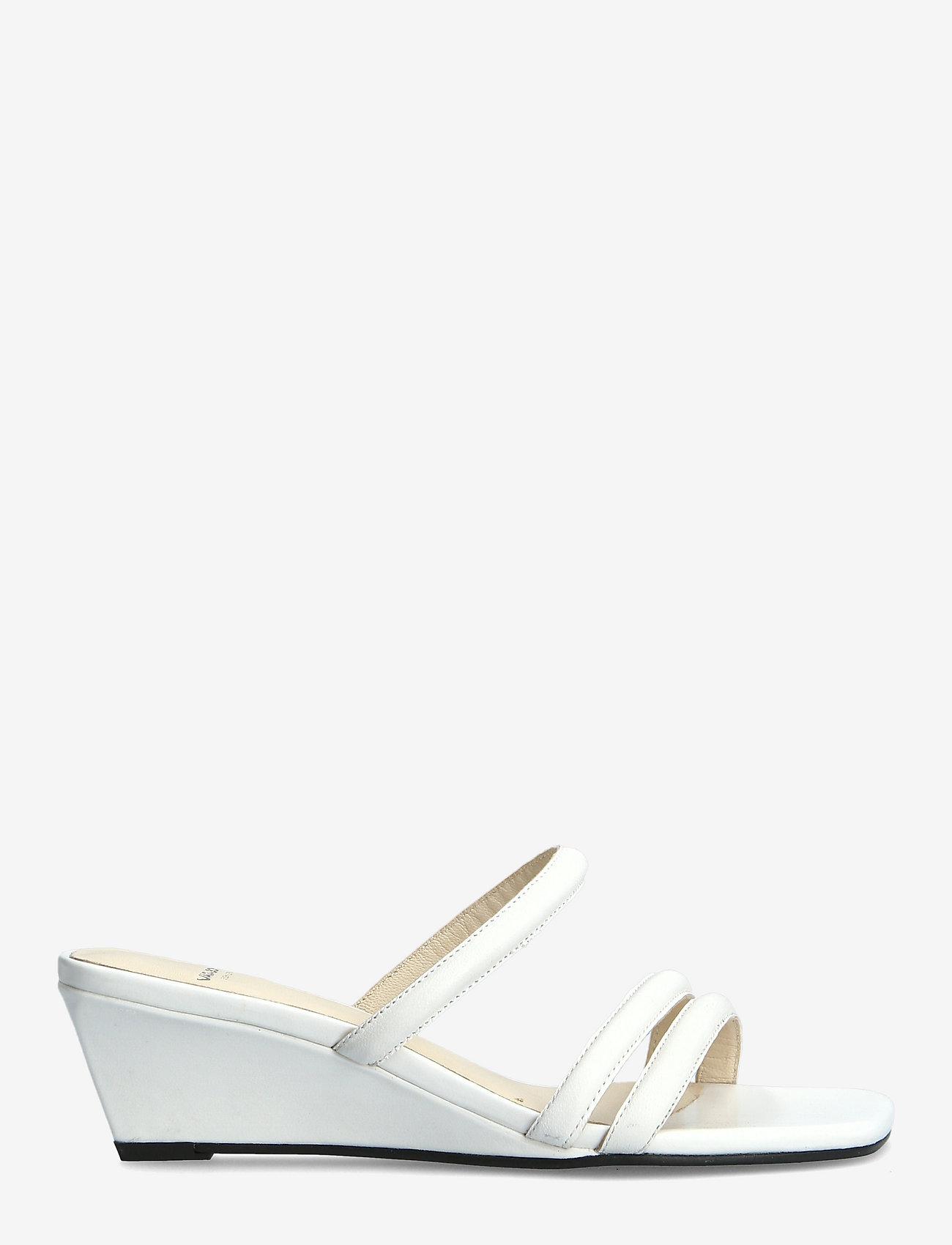 VAGABOND - NELLIE - sandały na obcasie - white - 1