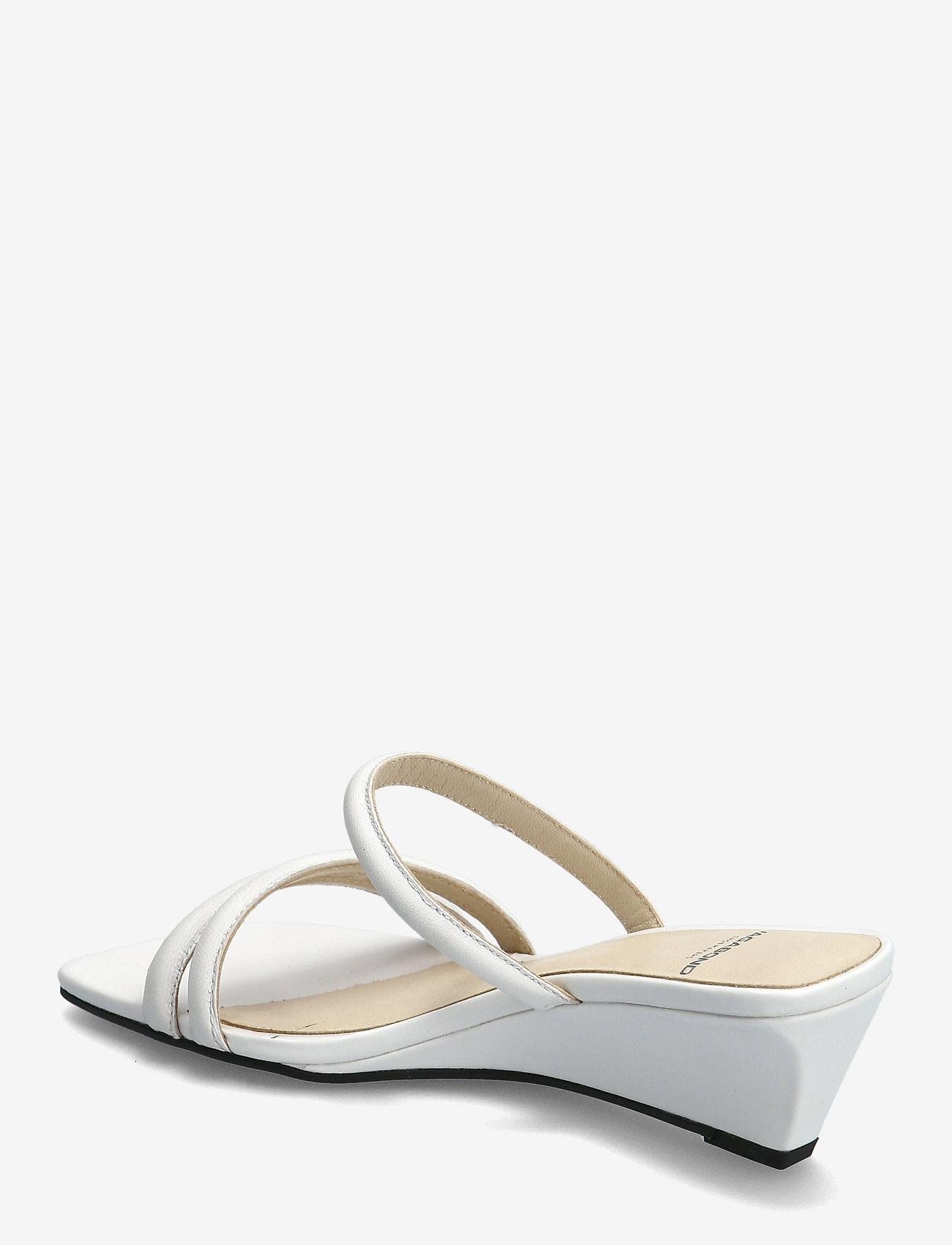 VAGABOND - NELLIE - sandały na obcasie - white - 2