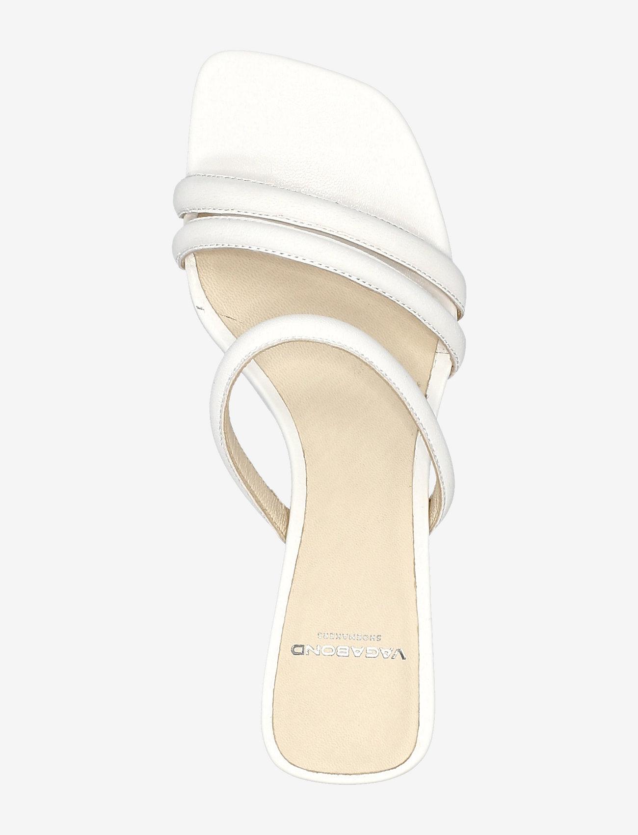 VAGABOND - NELLIE - sandały na obcasie - white - 3