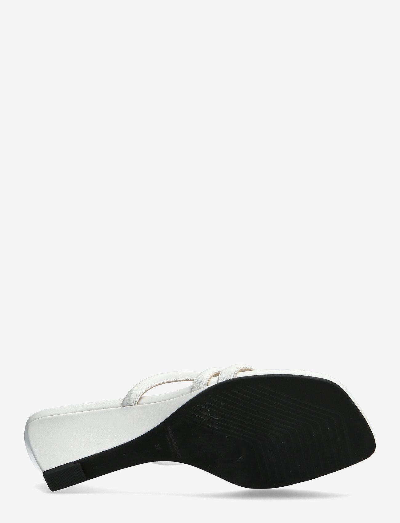 VAGABOND - NELLIE - sandały na obcasie - white - 4
