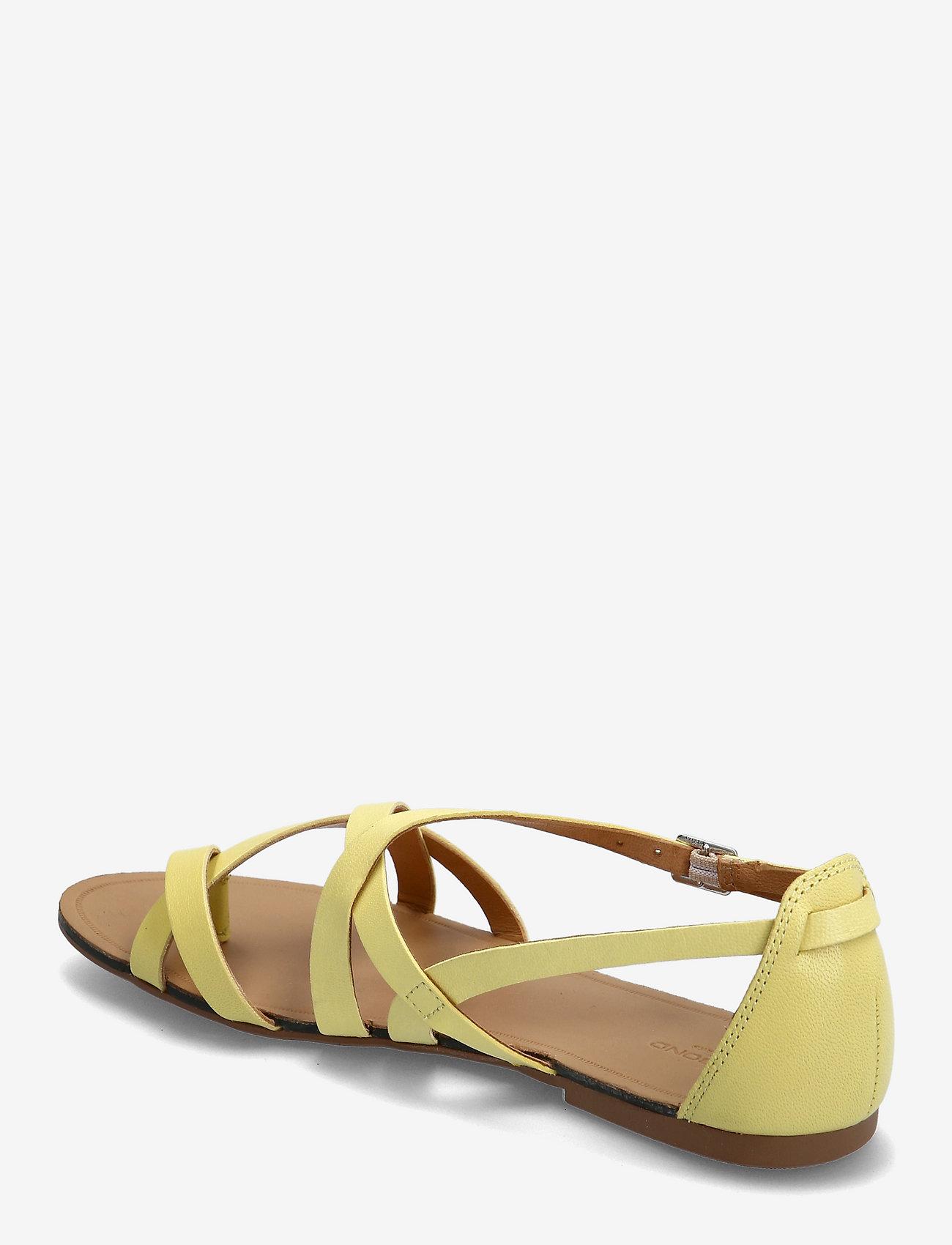 VAGABOND - TIA - płaskie sandały - citrus - 2