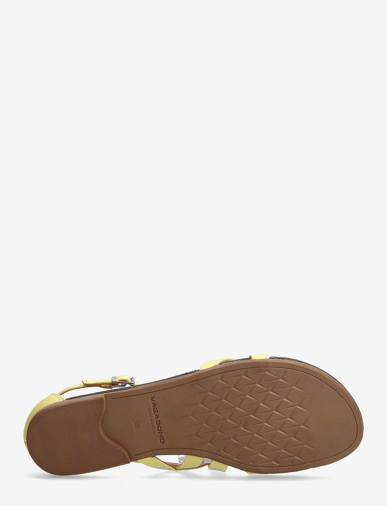 VAGABOND - TIA - płaskie sandały - citrus - 4