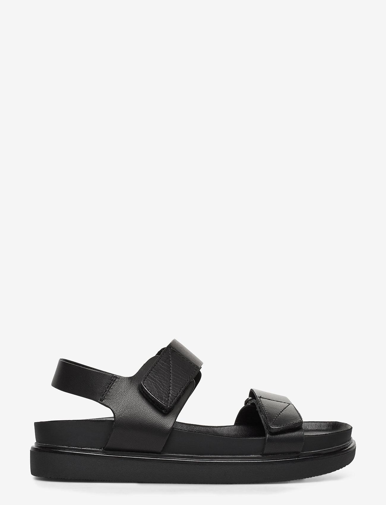 VAGABOND - ERIN - płaskie sandały - black - 1