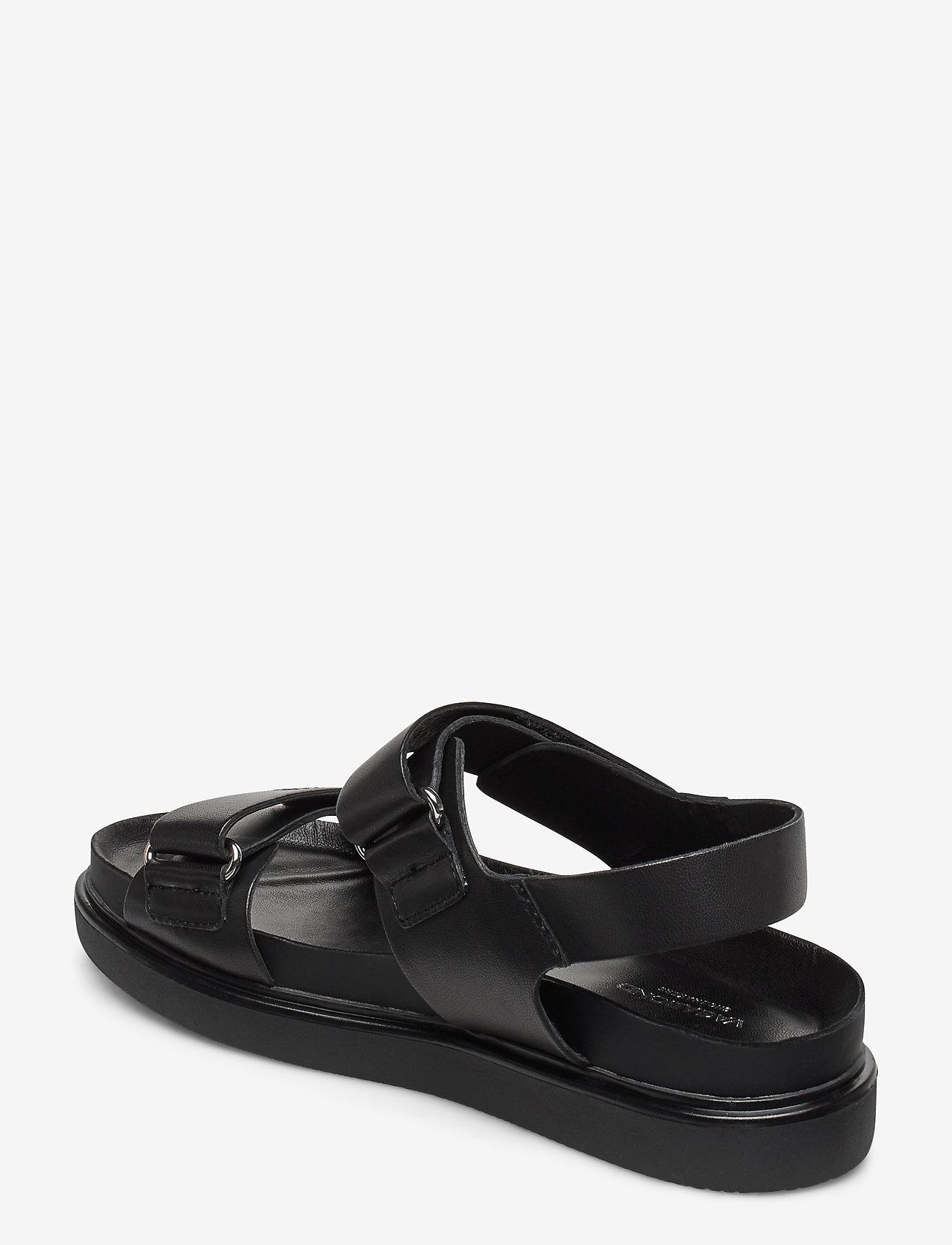 VAGABOND - ERIN - płaskie sandały - black - 2