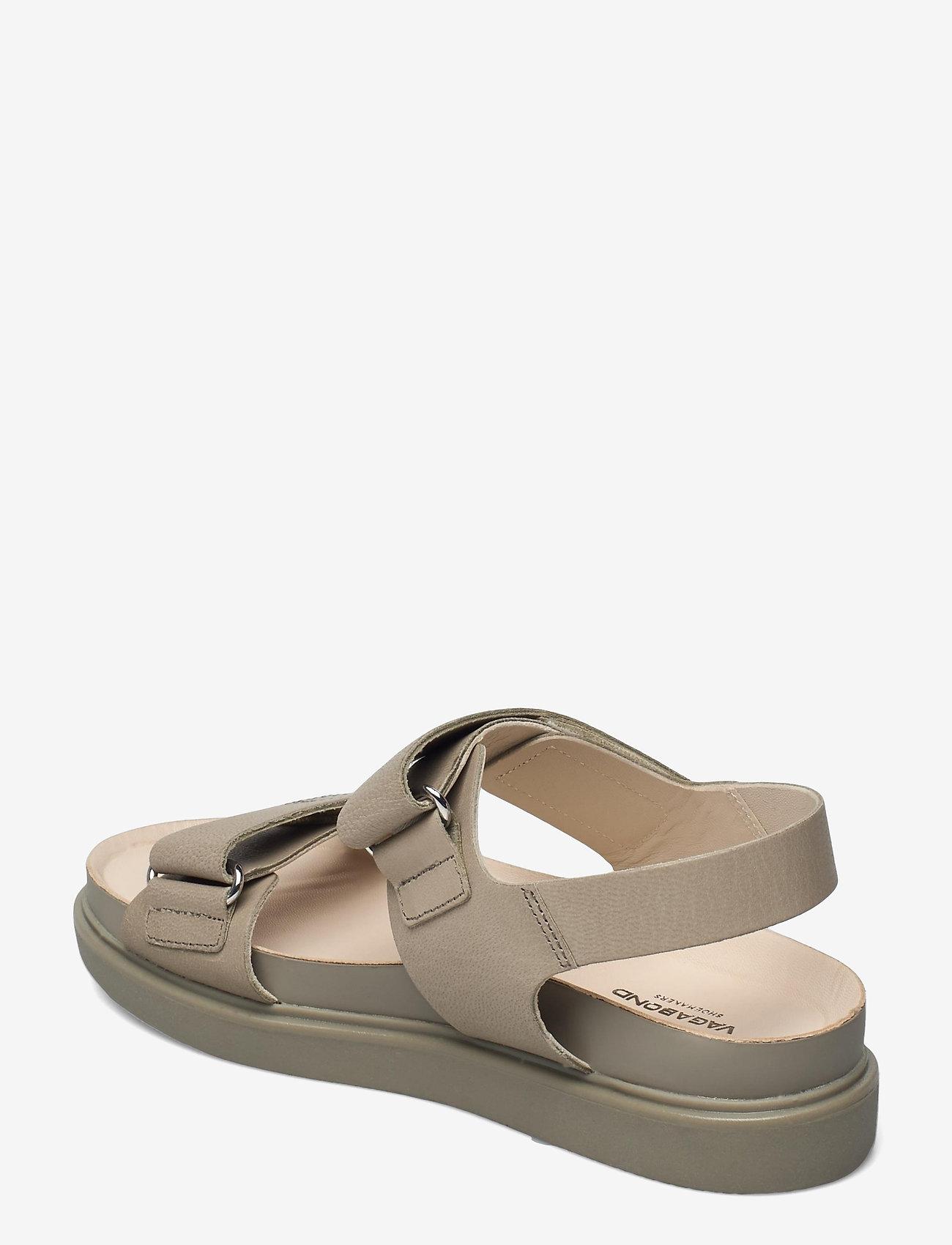 VAGABOND - ERIN - płaskie sandały - sage - 2