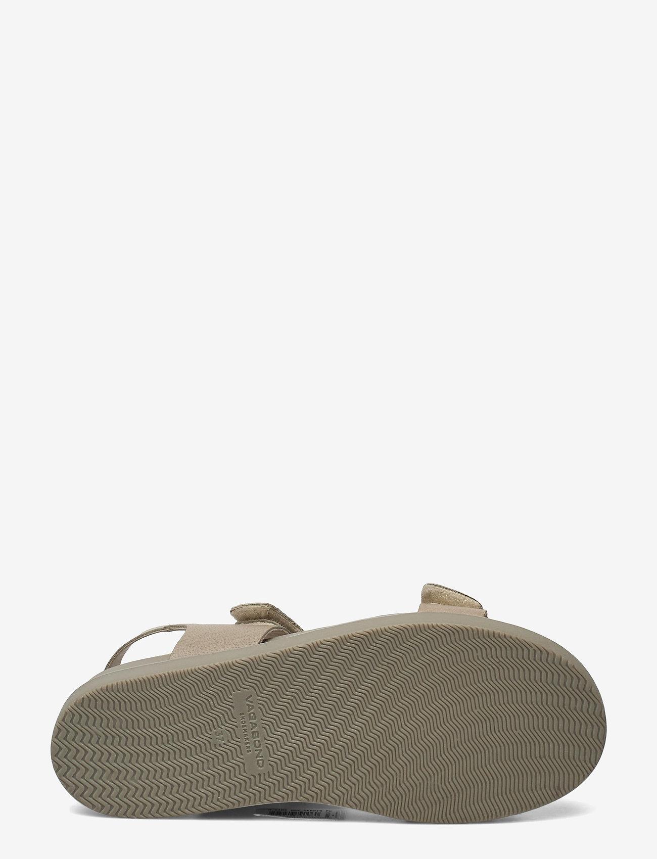VAGABOND - ERIN - płaskie sandały - sage - 4